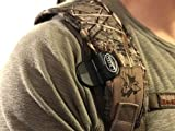 Sling Saddle Shoulder Clip by Creed Outdoors, Carry Your Rifle Hands Free, Easily Hooks to Your Rifle Sling and Holds Your Gun securely. (1 Shoulder Clip Only)