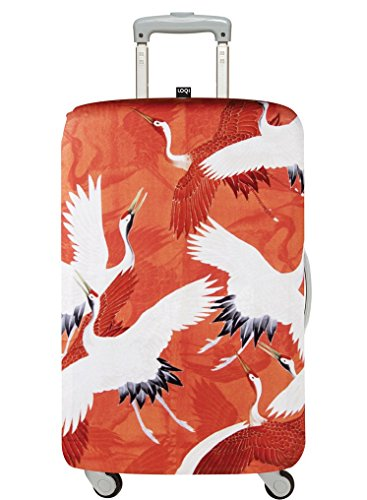 LOQI ANONYMOUS Woman's Haori with Cranes, 1920-40 Luggage Cover - Kofferhülle