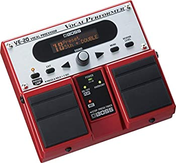 Boss VE-20 Vocal Performer Multi-Effects Pedal review