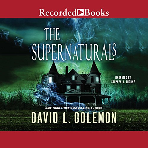The Supernaturals audiobook cover art