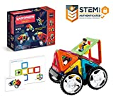 Magformers Vehicle Wow Set (16-pieces) Magnetic    Building      Blocks, Educational  Magnetic    Tiles...