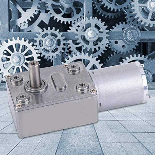 Motor, motor de engranaje de tornillo sin fin de 6 V, motor de CC de tornillo sin fin de torsión grande para la industria(100RPM)