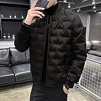 暖かく 男性のダウンジャケットの古典的な冬のダウンジャケットハイブリッドハイキングコート大人と学生のためのハイブリッドハイキングコートParkas メンズ (Color : Black, サイズ : X-Large)