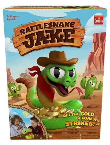 Rattlesnake Jake - Get The Gold Before He Strikes! Game by Goliath, Multi Color