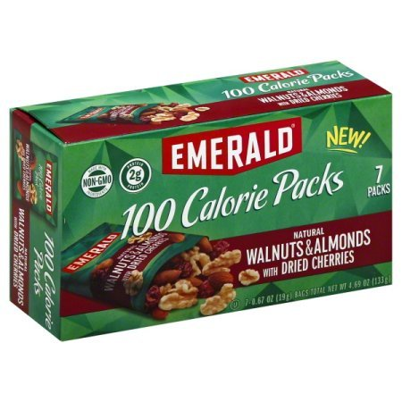 Emerald 100 Calorie Pack Walnuts amp Almonds with Dried Cherries