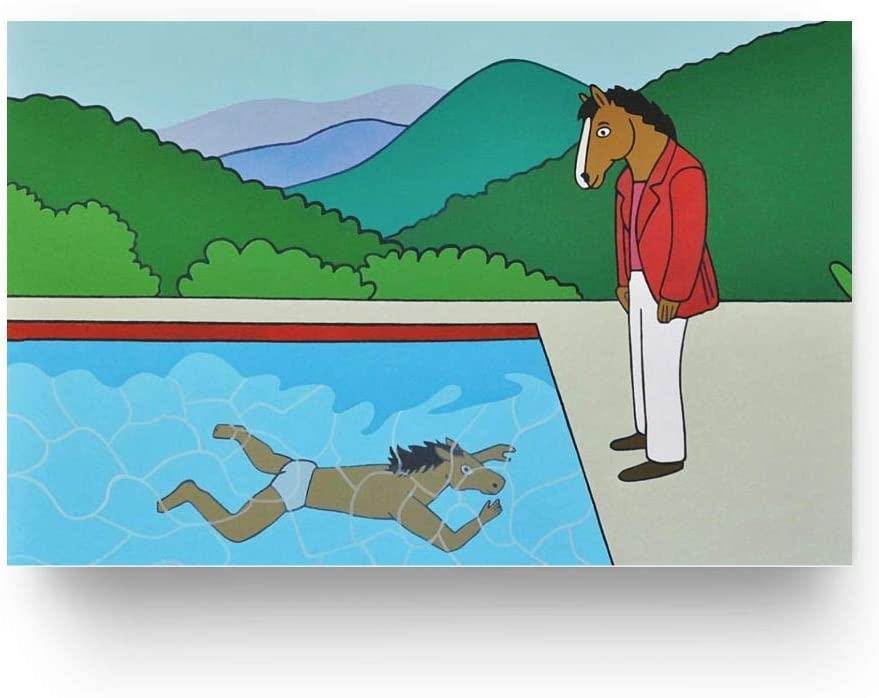 TVS761 MCPosters BoJack Horseman TV Show Series Poster Glossy Finish 16 x 24 41cm x 61cm