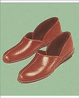 10x8 Print of Men s Slippers (19765553)