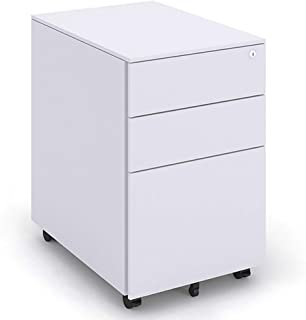 Caisson bureau Supports imprimantes Armoire de données de Bureau Armoire de données d'activité Mobile Armoire de Stockage ...