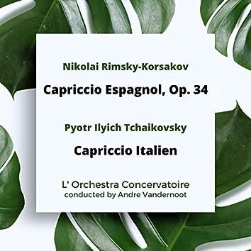 Rimsky-Korsakov: Capriccio Espagnol, Op. 34 / Tchaikovsky: Capriccio Italien