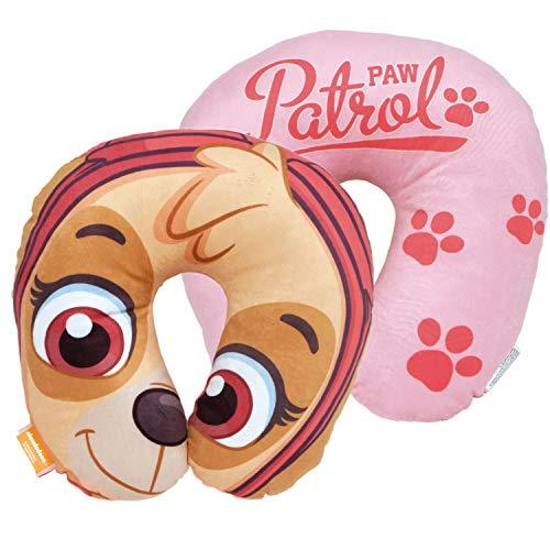 ARDITEX PW12463 Cojín para el Cuello de 33x33x6cm de Nickelodeon-Patrulla Canina
