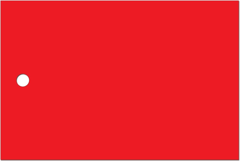 Kolli-Anhänger (Kunststoff) AEK-75-50-250 - 75x50 mm mm mm - rot-matt (61) - reißfest - Lochstanzung 4mm - gut beschreibbar - 240g m² - beidseitig matt gestrichen - 250 Stück B06WGNTYJW  | Jeder beschriebene Artikel ist verfügbar  e8b51d