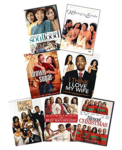 Ultimate Urban Romance 7-Movie DVD Collection: Soul Food / Waiting to Exhale / Brown Sugar / I Think I Love My Wife / The Best Man / The Best Man Holiday / Almost Christmas