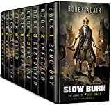 Slow Burn Box Set: The Complete First Saga in the Post-Apocalyptic Series (English Edition)