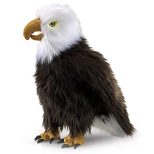 Folkmanis Handpuppe sitzender Adler