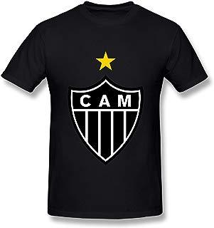 GNJY Clube Atletico Mineiro Soccer Men's Short Sleeve Classic Cotton