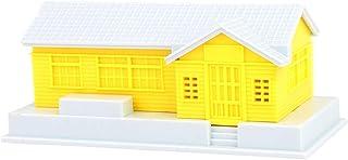 HO Scale Building House Model för 1:87 HO Gauge Model Train Layout