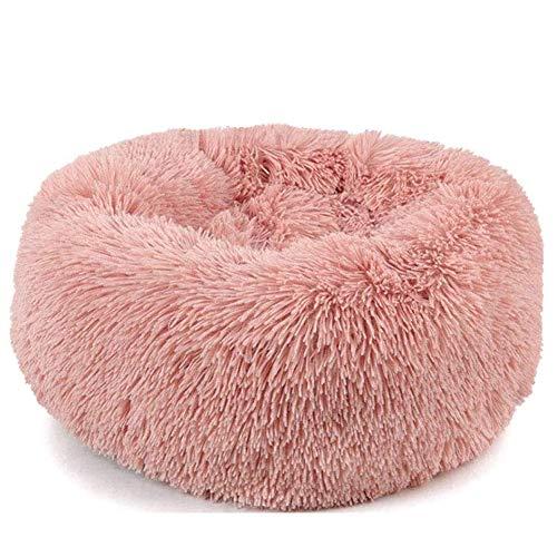 Flauschiges Hundebett, Hundekatzen-Haustiermatratze Waschbares Kissen Kissen Weiches warmes PP-Baumwollbett mit Rutschfester Unterseite Lindert schmerzhaften Druck für Hunde