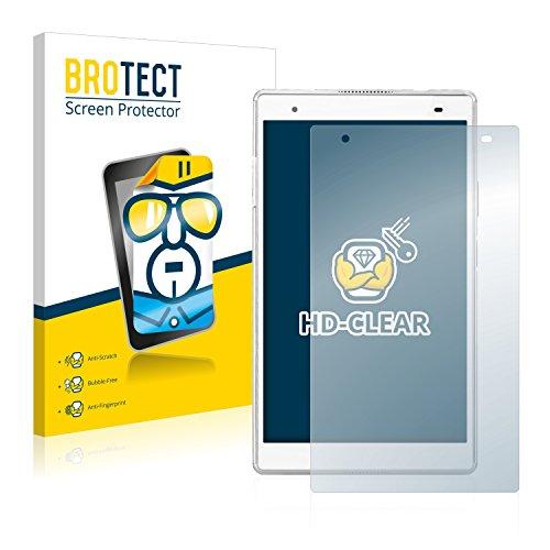 BROTECT Schutzfolie kompatibel mit Lenovo Tab 4 8 Plus (2 Stück) klare Bildschirmschutz-Folie