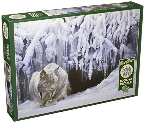 Cobblehill 80123 1000 pc Dozing Lynx Puzzle, verschieden
