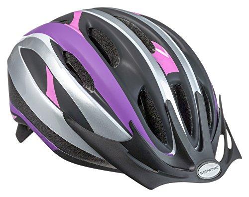 Schwinn Bike Helmet Intercept Collection, Youth, Purple/Pink