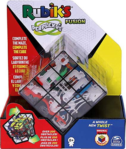 Spin Master Games Rubik's Perplexus Fusion 3 x 3, Challenging Puzzle Maze...