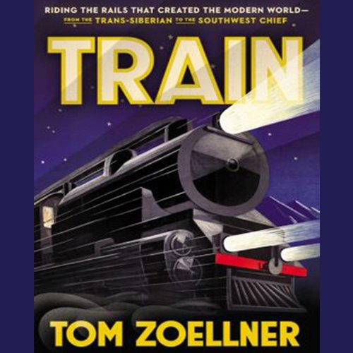 Train audiobook cover art