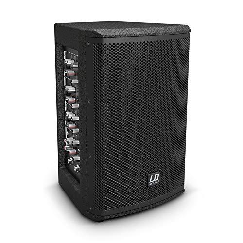 LD Systems Mix 6 A G3 2-Weg Aktiv-Lautsprecher mit Integriertem 4-Kanal-Mixe