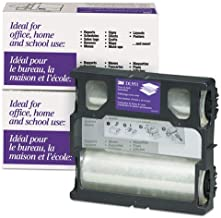 3M Scotch DL951 Glossy Refill Rolls for Heat-Free Laminating Machines,100 ft.
