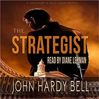 The Strategist audiobook cover art