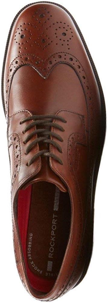 Rockport Mens Essential Details Waterproof Wingtip Oxford Shoe