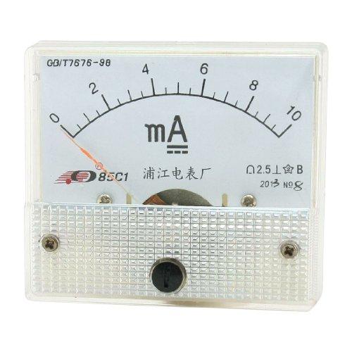 Aexit Analoges Gleichstrom-Panel-Ampere-Messgerät 0-10 mA 85C1 (9c5da5bdc1768c3ef5aaa8dc8352ec43)