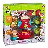 PlayGo 3715 Spielset Frühstück für Zwei, mit Küchenutensilien, Geschirr und viel Zubehör, 27 teilig