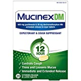 Best Cough Expectorants - Cough Suppressant and Expectorant, Mucinex DM 12 Hr Review