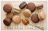 GAGALAM Puzzle Adulte en Bois 1500 Pièces Dessert Aux Pépites De Chocolat Le Choix pour Les Cadeaux Et La Décompression