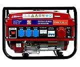 GENERADOR ELECTRICO GASOLINA 4 TIEMPOS (1000W+1000W+1000W+2500W) MONOFASICO TRIFASICO 2 MODELOS ARRANQUE CUERDA GASOLINA Y ACEITE NO INCLUIDOS (SIN RUEDAS)