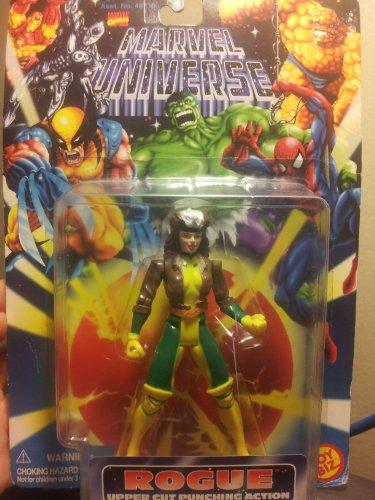 Marvel Universe X-MEN: ROGUE Upper Cut Punching Action by Toy Biz (English Manual)