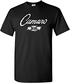 Chevy Camaro SS Classic American Muscle Car T Shirt Adult Sizes S-3X Various