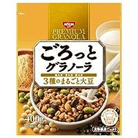 日清シスコ ごろっとグラノーラ まるごと大豆 400g×6袋入×(2ケース)