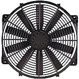 Flex-a-lite 118 Black 16' LoBoy Electric Fan (puller)