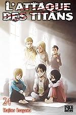 L'Attaque des Titans T24 de Hajime Isayama