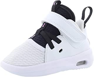Jordan Air First Class Infant's Shoes Size 10 White/Black