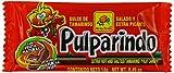 De La Rosa Pulparindo Dulce de Tamarindo | Salado y Extra Picante | Caja de 20 unidades