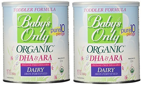 Baby's Only Organic Dairy with DHA & ARA Formula, 12.7 Ounce (Pack of 2) by...
