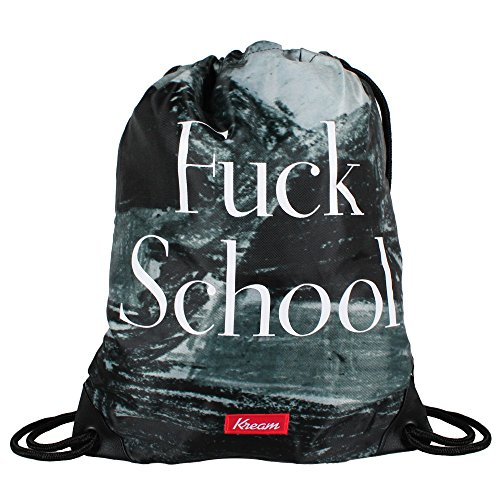 kream Schooligan Reversible Bag black