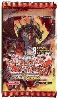 new media Wizards of Mickey Il Torneo busta 9 carte 1a edizione (Italiano)