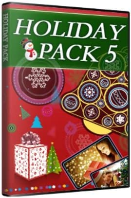 Holiday Pack Vol.5 Large discharge sale for PowerDirector Download 12 Oakland Mall