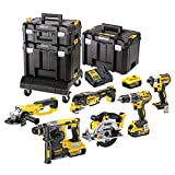 <span class='highlight'>DEWALT</span> DEWDCK654P3T DCK654P3T XR Compact TSTAK Kit 6 Piece 18 Volt 3 x 5.0A