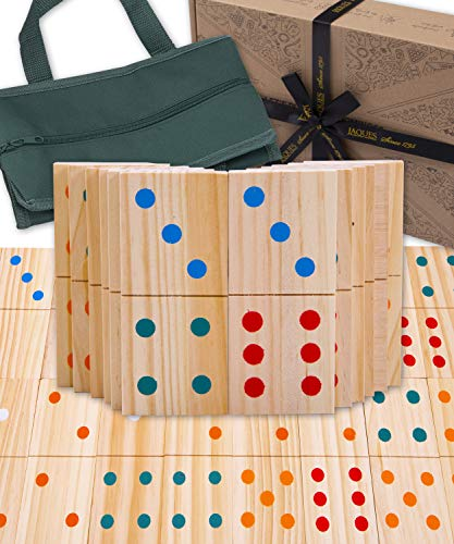 Juego de jardín de dominó Gigante Jaques de Londres - Juegos de jardín Adultos y niños Desde 1795