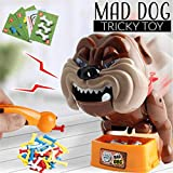 HIPPUO Funny Electronic Pet Dog Toys, Funny Parent Child Games Beware of The Dog Don't Wake The Dog Toys, Dog Board Games, Bad Dog Gnaw Bones