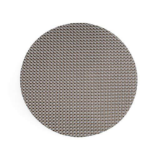 BESTONZON Sets de table ronds pour table de salle à manger Tapis de table d'isolation thermique antidérapants pour café-restaurant d'hôtel (noir)